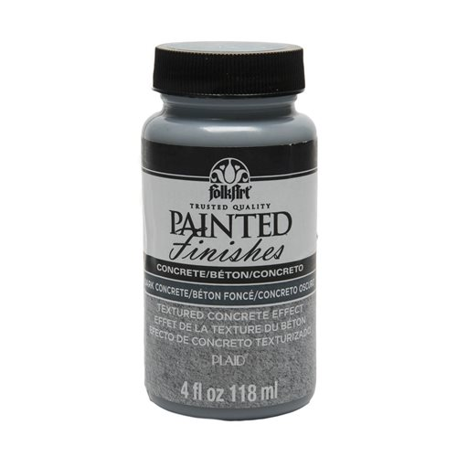 FolkArt ® Painted Finishes - Dark Concrete, 4 oz.