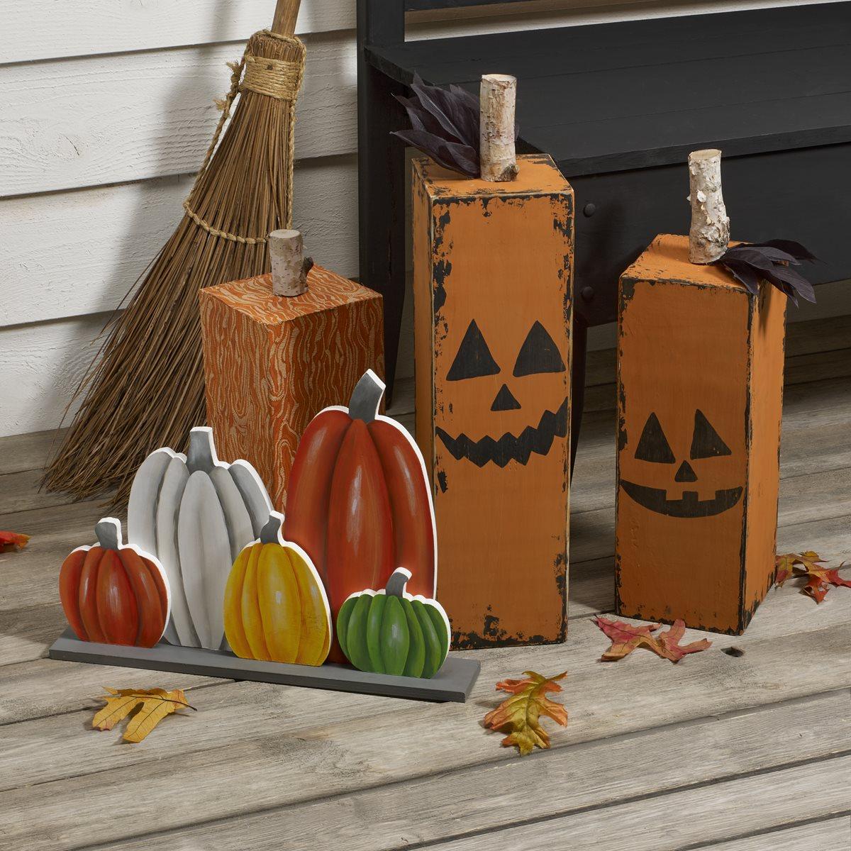 DIY Pumpkin Patch Stand