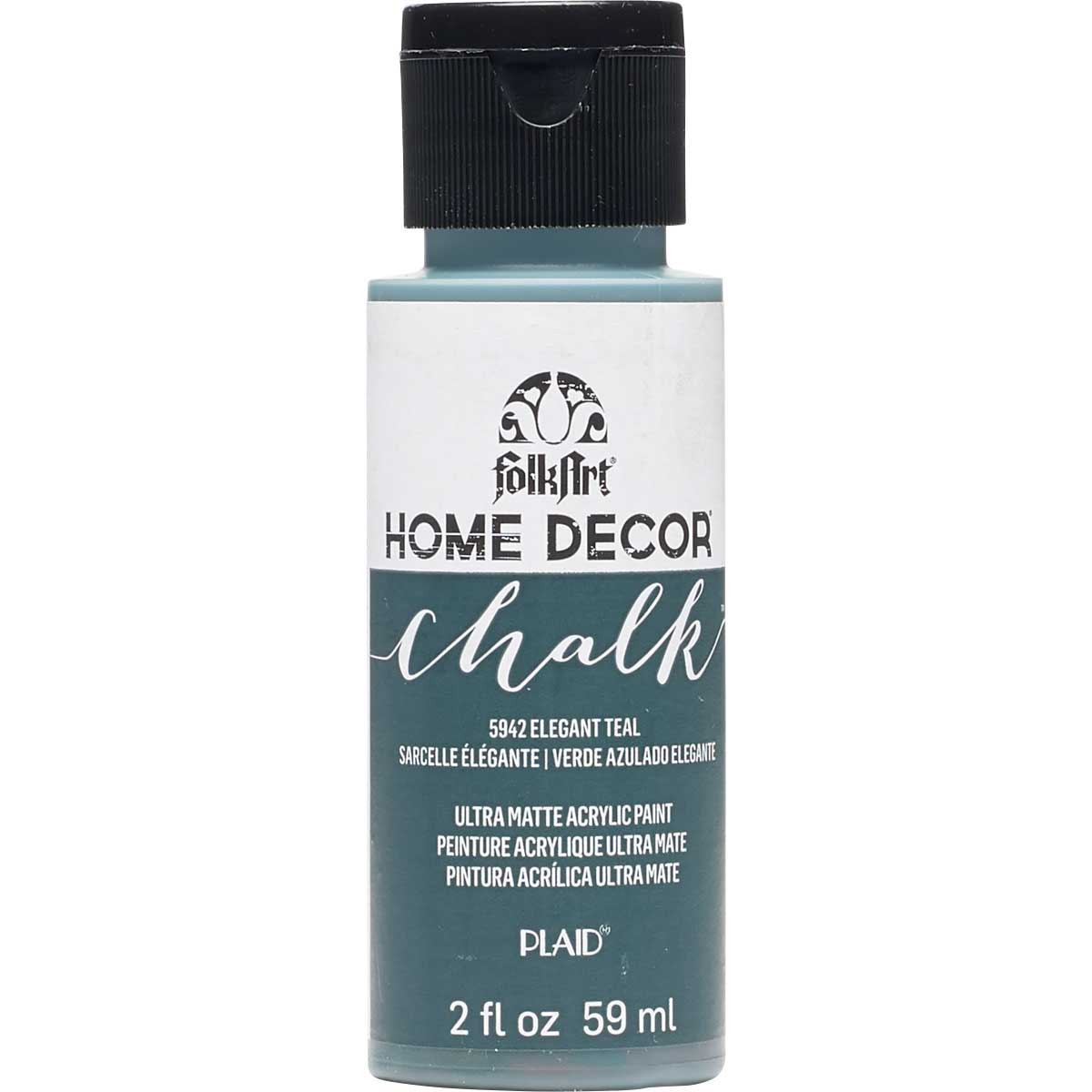 FolkArt ® Home Decor™ Chalk - Elegant Teal, 2 oz.