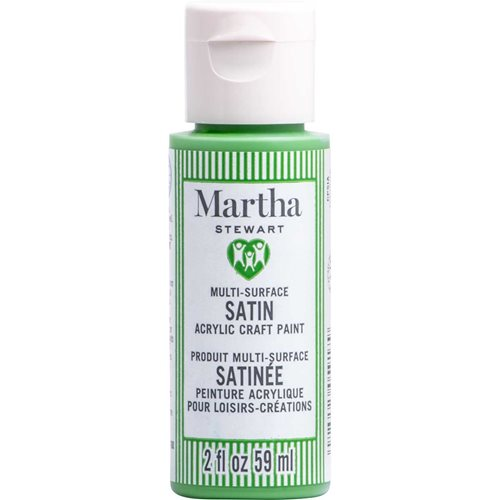 Martha Stewart ® Multi-Surface Satin Acrylic Craft Paint CPSIA - Tree Top, 2 oz. - 5917