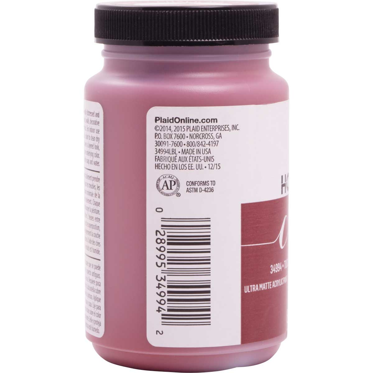 FolkArt ® Home Decor™ Chalk - Tuscan Red, 8 oz. - 34994