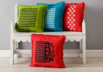 Handmade Charlotte Graphic Patterned Pillows