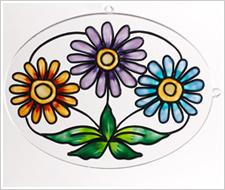 Floral Daisy Suncatcher