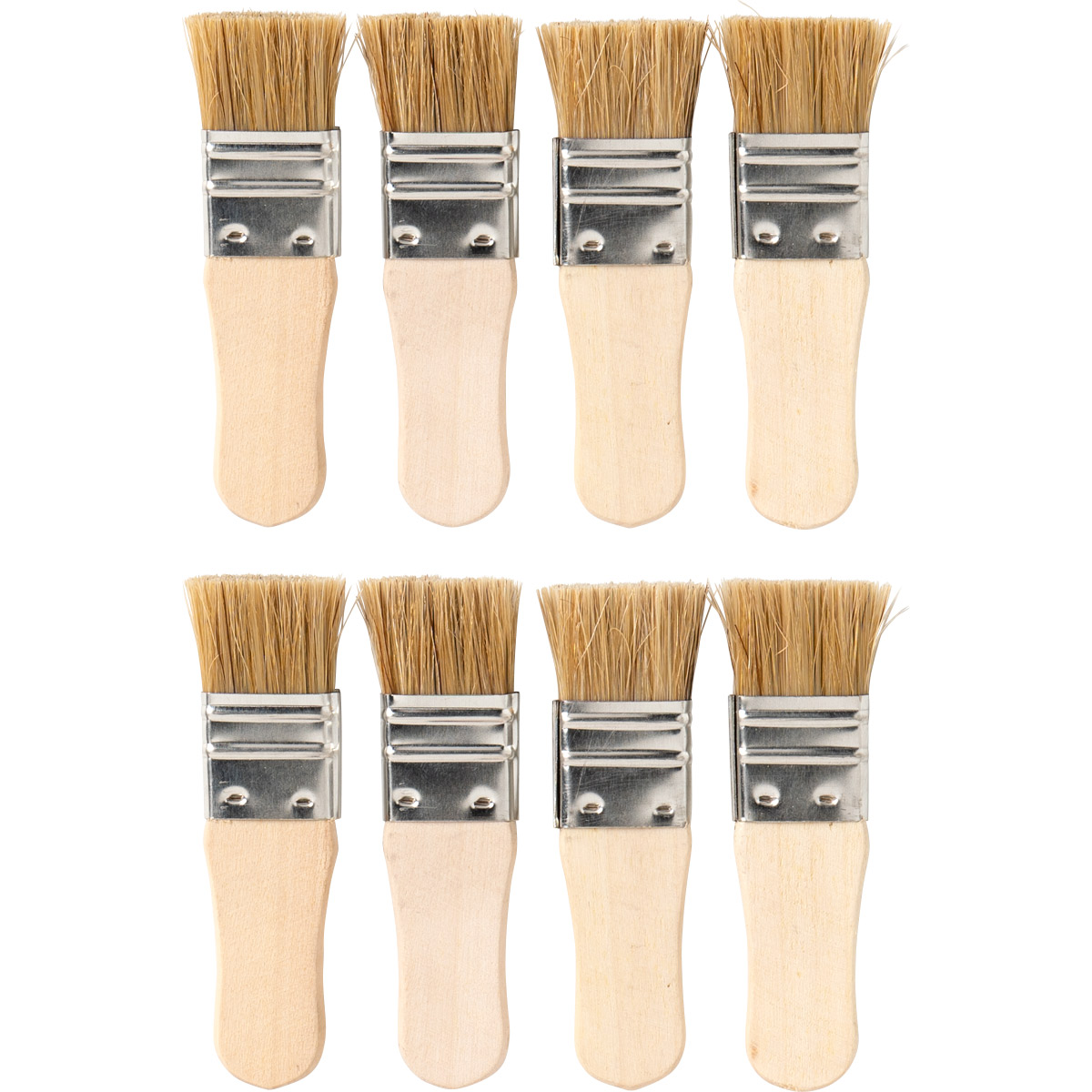 Apple Barrel ® Brush Sets - Short Handle Chip Set, 8 pc. - 44352E