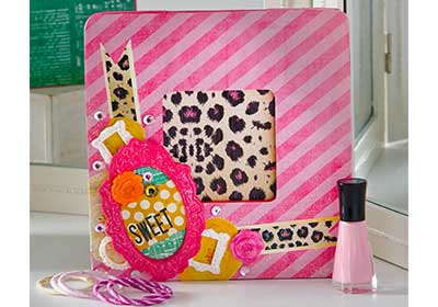 Sweet Girly Vanity Frame