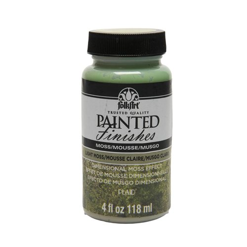 FolkArt ® Painted Finishes - Light Moss, 4 oz.