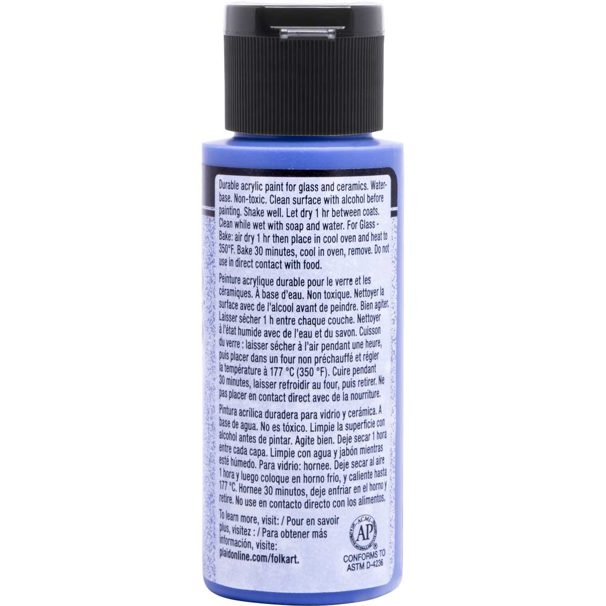 FolkArt ® Enamels™ - Frosted Sapphire, 2 oz.