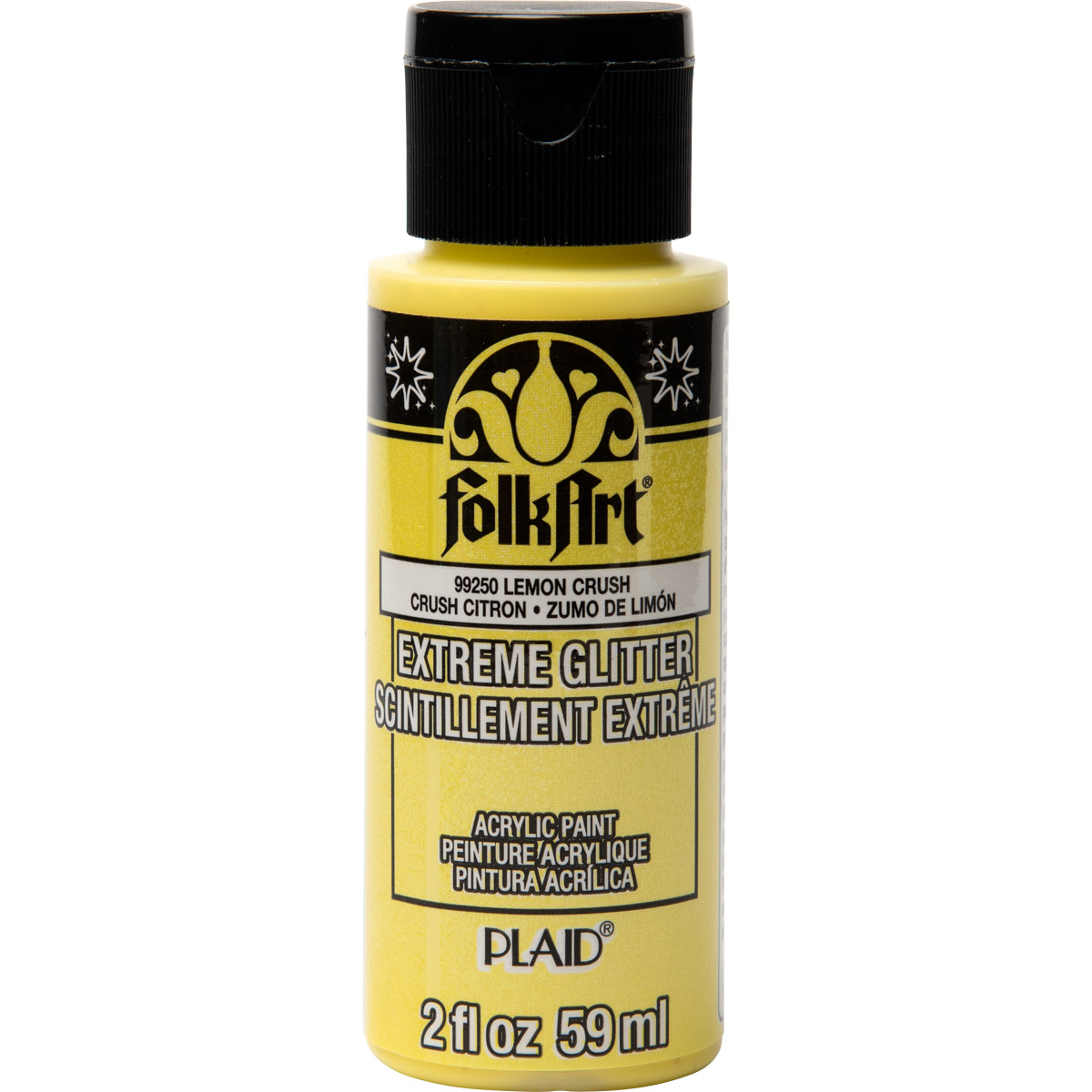 FolkArt ® Extreme Glitter™ - Lemon Crush, 2 oz.