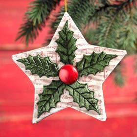 Quick Ornament DIY - Christmas Star