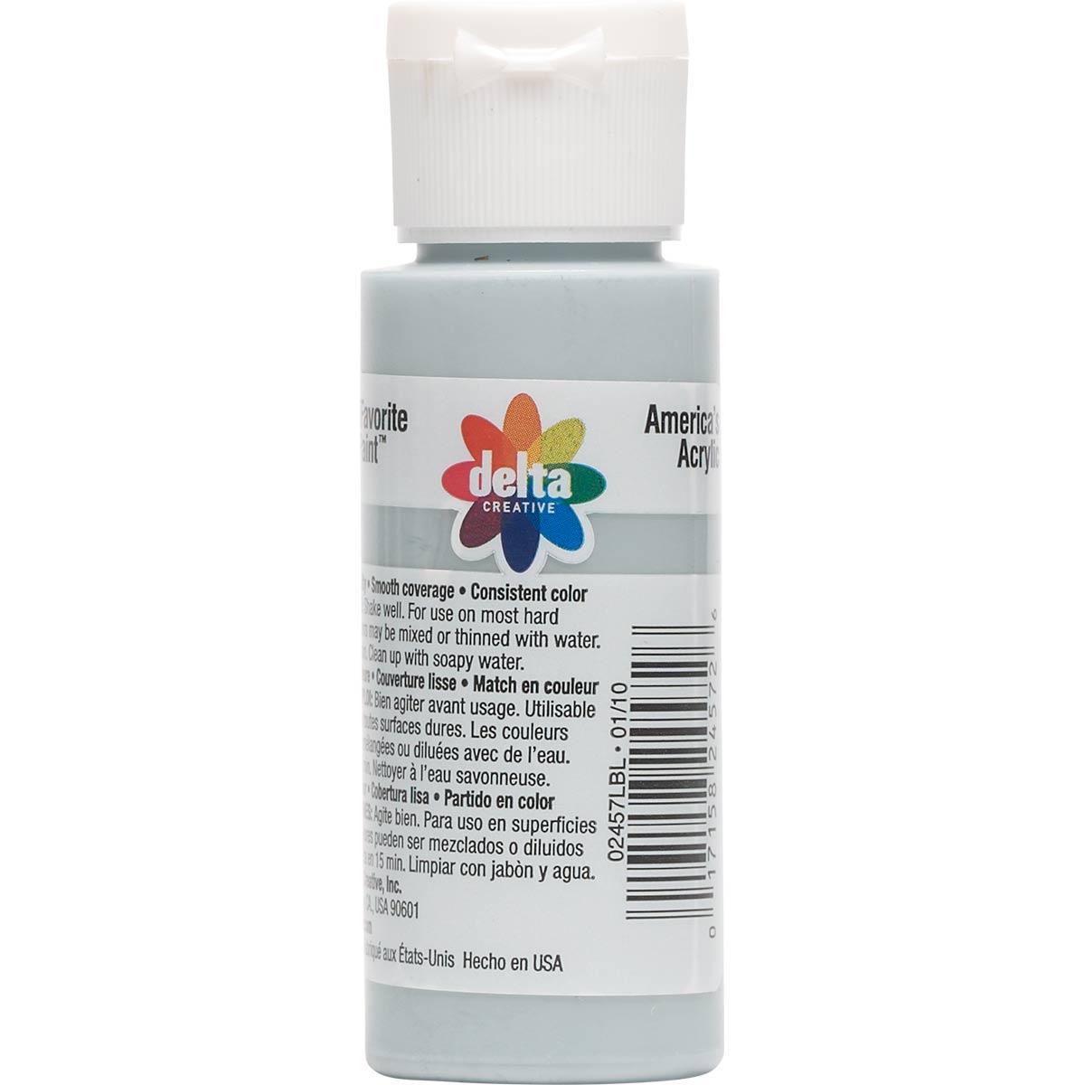 Delta Ceramcoat ® Acrylic Paint - Dolphin Grey, 2 oz.