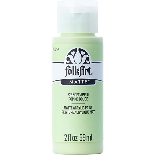 FolkArt ® Acrylic Colors - Soft Apple, 2 oz. - 526