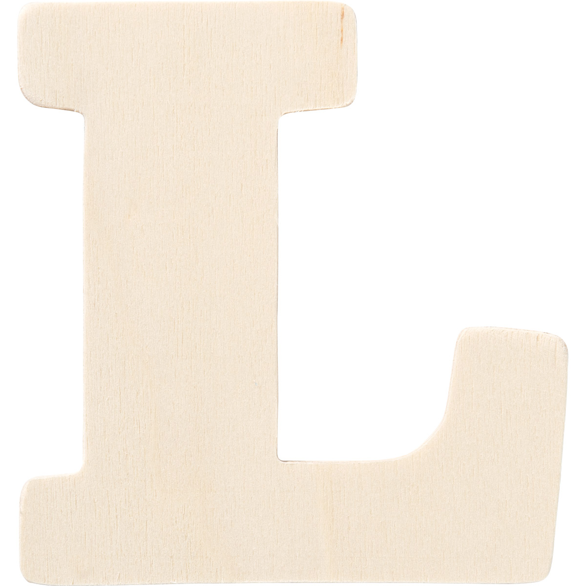 Plaid ® Painter's Palette™ Wood Letter - L. 4 inch - 23876