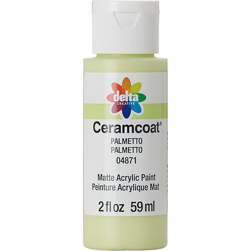 Delta Ceramcoat ® Acrylic Paint - Palmetto, 2 oz.
