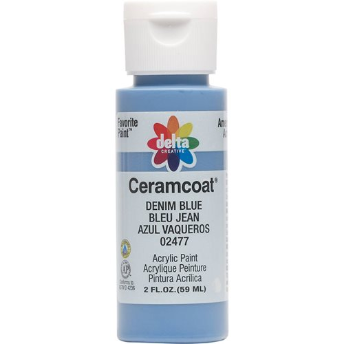 Delta Ceramcoat ® Acrylic Paint - Denim Blue, 2 oz.