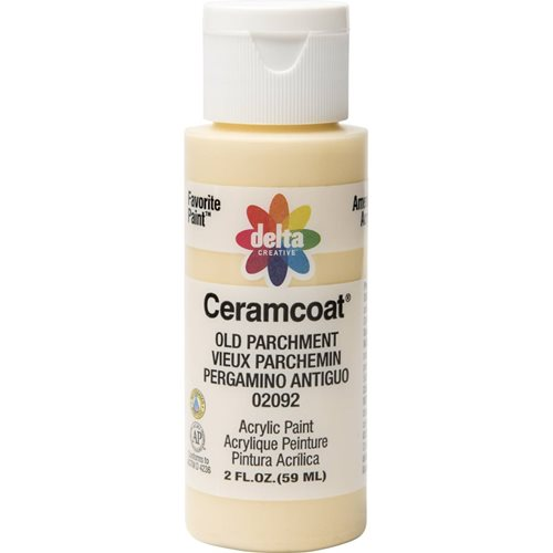 Delta Ceramcoat ® Acrylic Paint - Old Parchment, 2 oz.