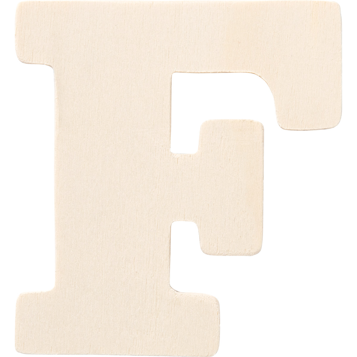Plaid ® Painter's Palette™ Wood Letter - F. 4 inch - 23795