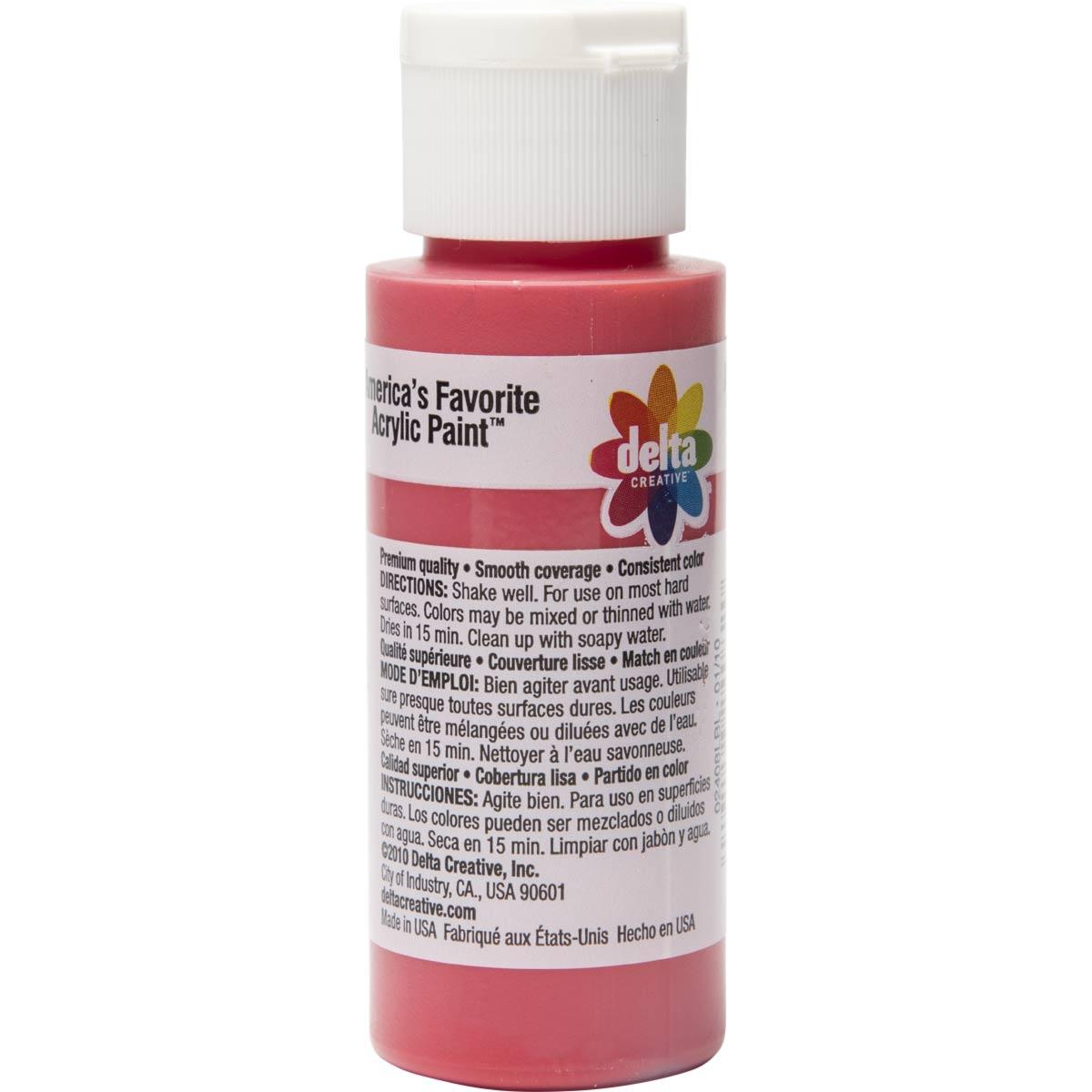 Delta Ceramcoat ® Acrylic Paint - Napthol Crimson, 2 oz. - 024080202W