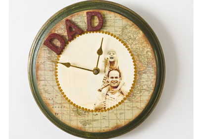 Father's Day Adventure Clock