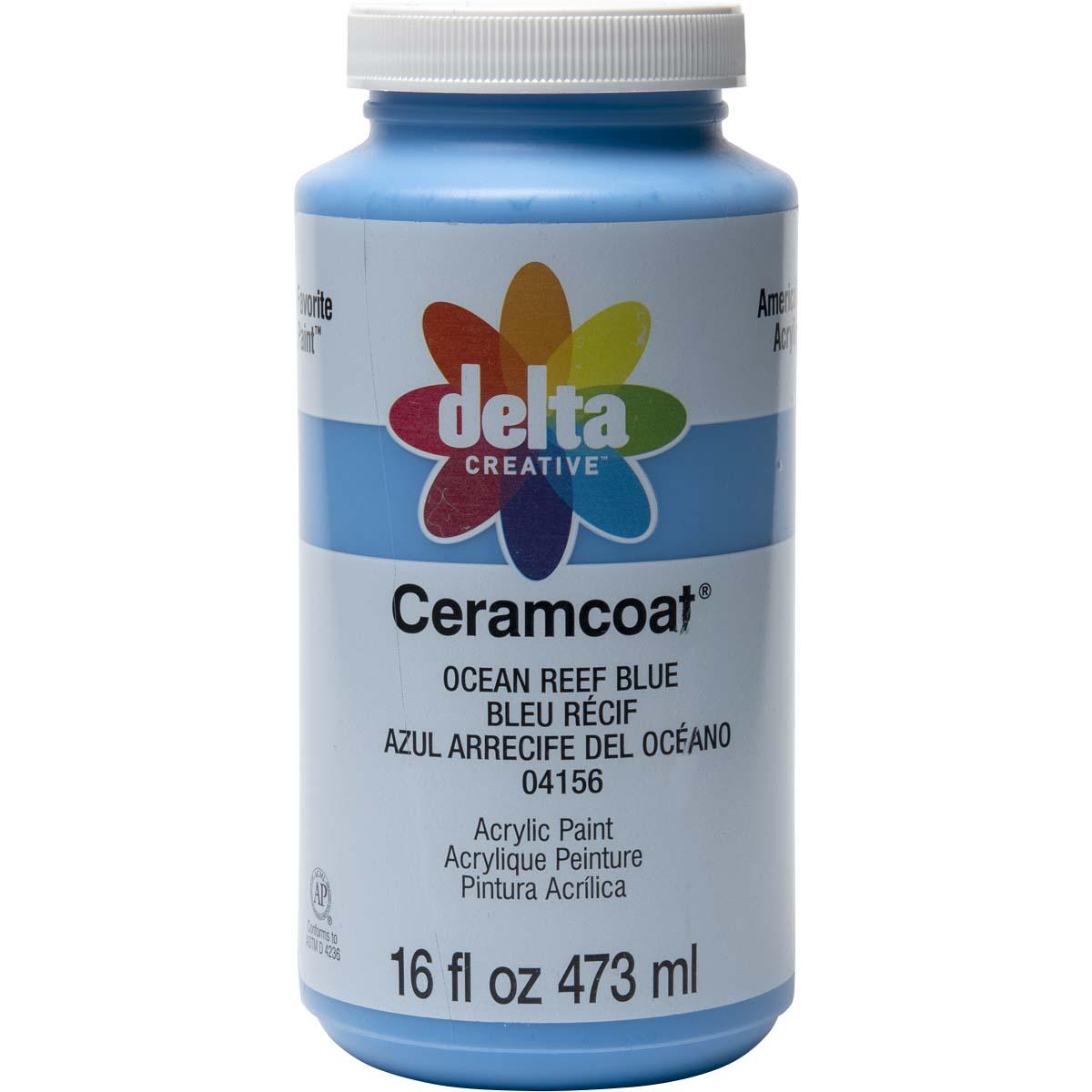 Delta Ceramcoat ® Acrylic Paint - Ocean Reef Blue, 16 oz.