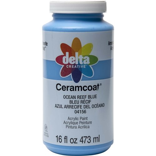 Delta Ceramcoat ® Acrylic Paint - Ocean Reef Blue, 16 oz.