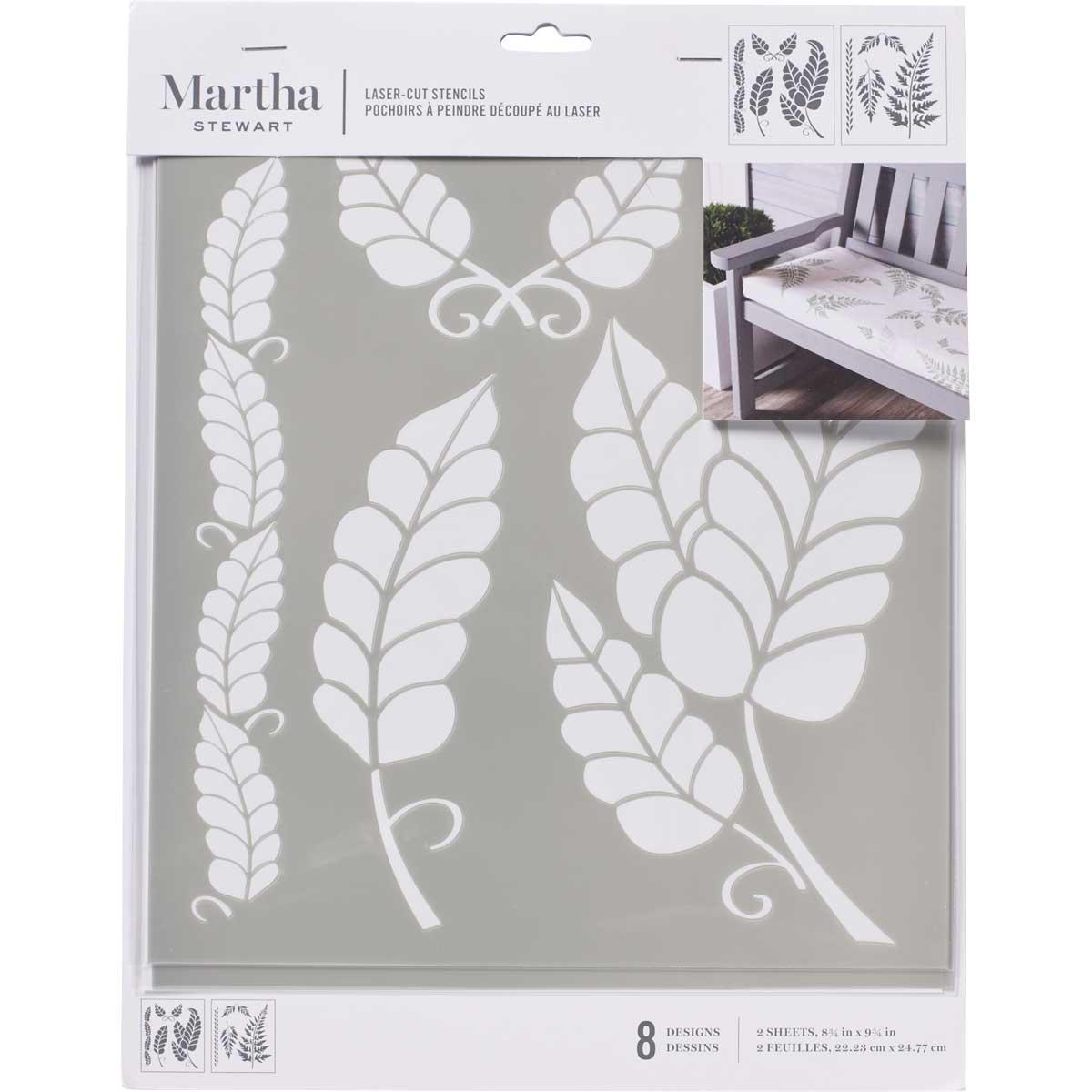 Martha Stewart® Laser-Cut Stencil - Leaves