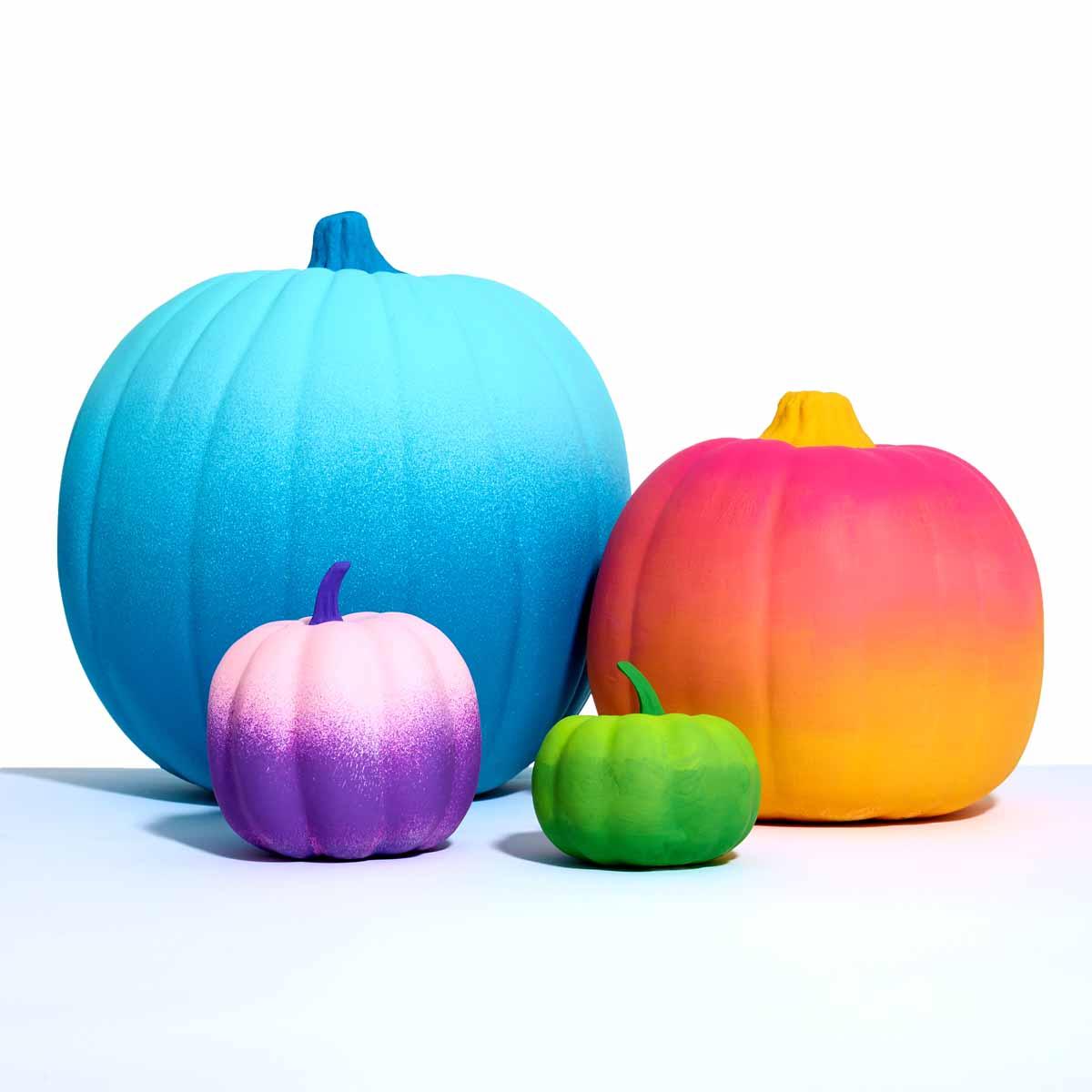 Delta Ombre Pumpkins