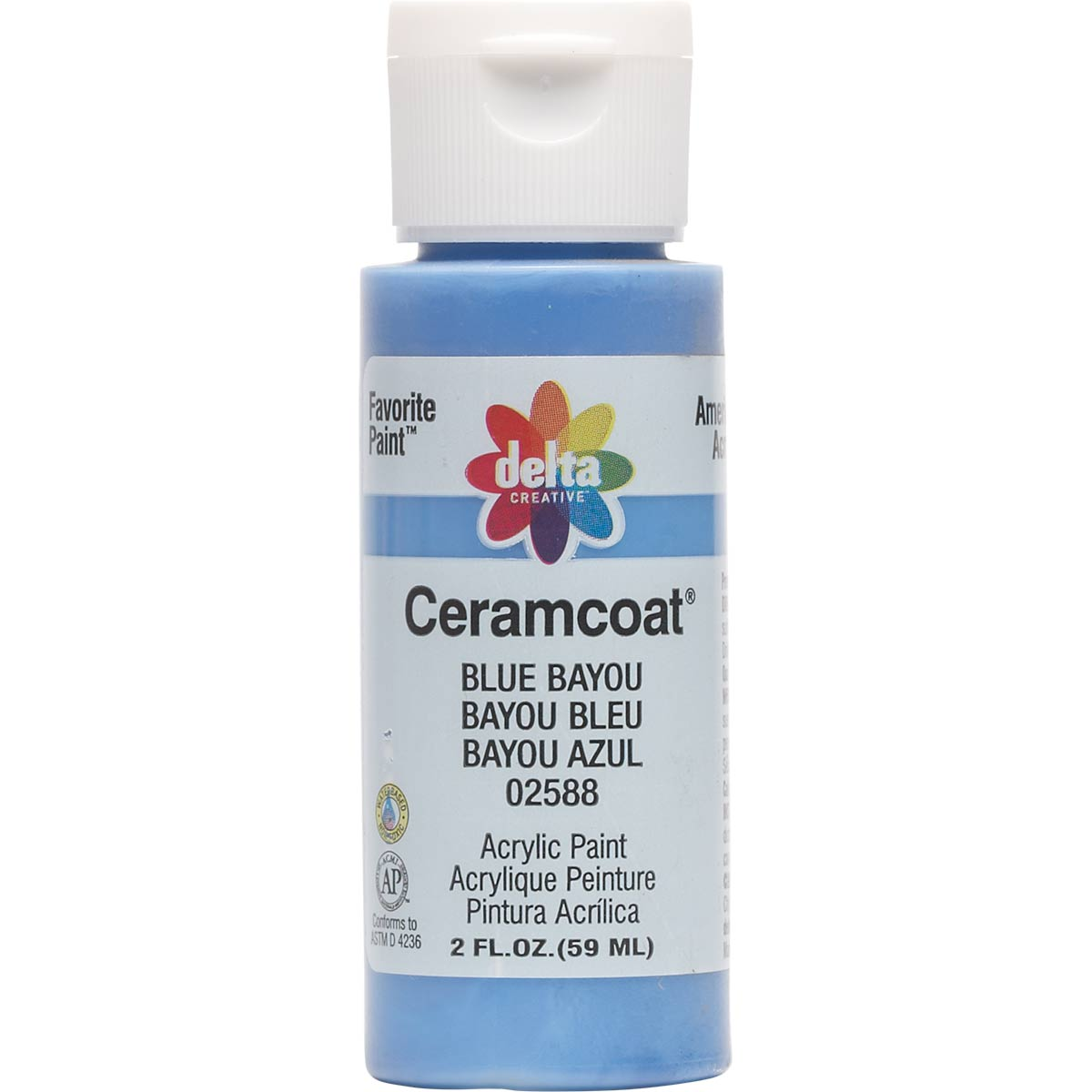 Delta Ceramcoat ® Acrylic Paint - Blue Bayou, 2 oz.