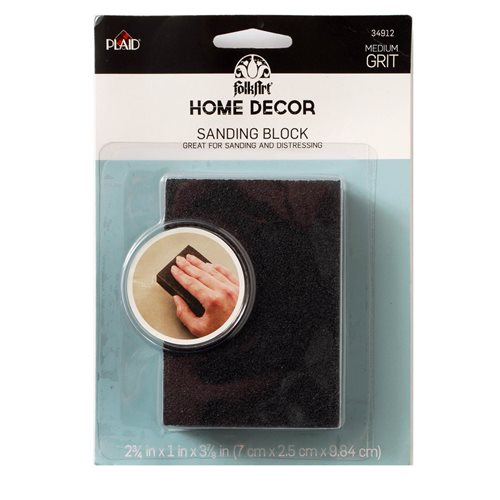 FolkArt ® Home Decor™ Tools - Sanding Foam Block - 34912