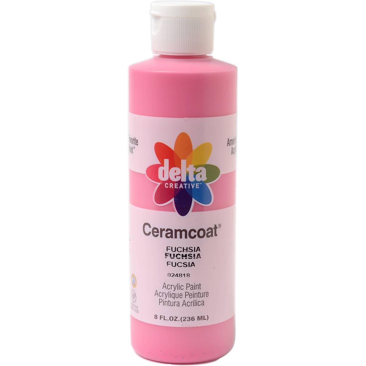 Delta Ceramcoat ® Acrylic Paint - Fuchsia, 8 oz. - 024810802W