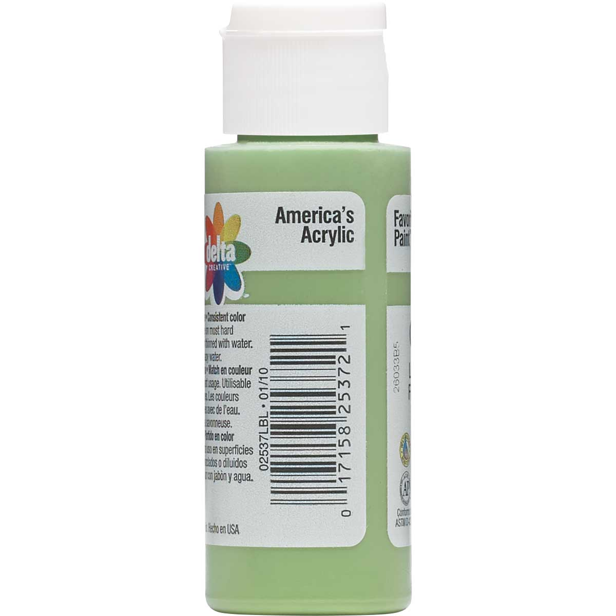 Delta Ceramcoat ® Acrylic Paint - Light Foliage Green, 2 oz.