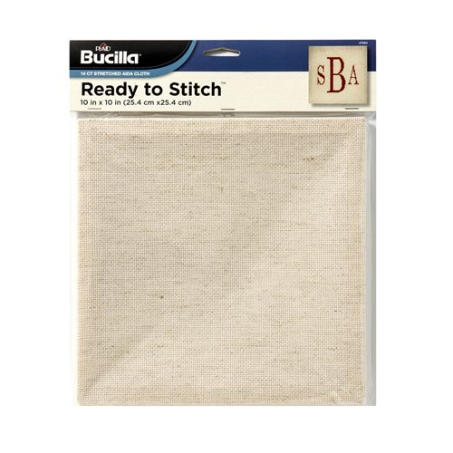 "Bucilla ® Ready to Stitch™ Blanks - Counted Cross Stitch - Oatmeal, 10"" x 10"""