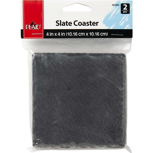 Plaid ® Surfaces - Slate Coasters, 2 pc. - 96399E
