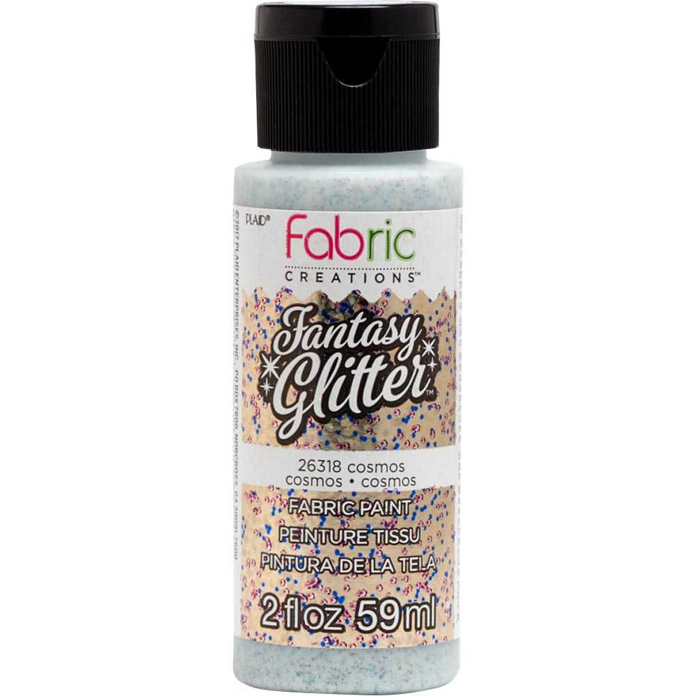 Fabric Creations™ Fantasy Glitter™ Fabric Paint - Cosmos, 2 oz. - 26318