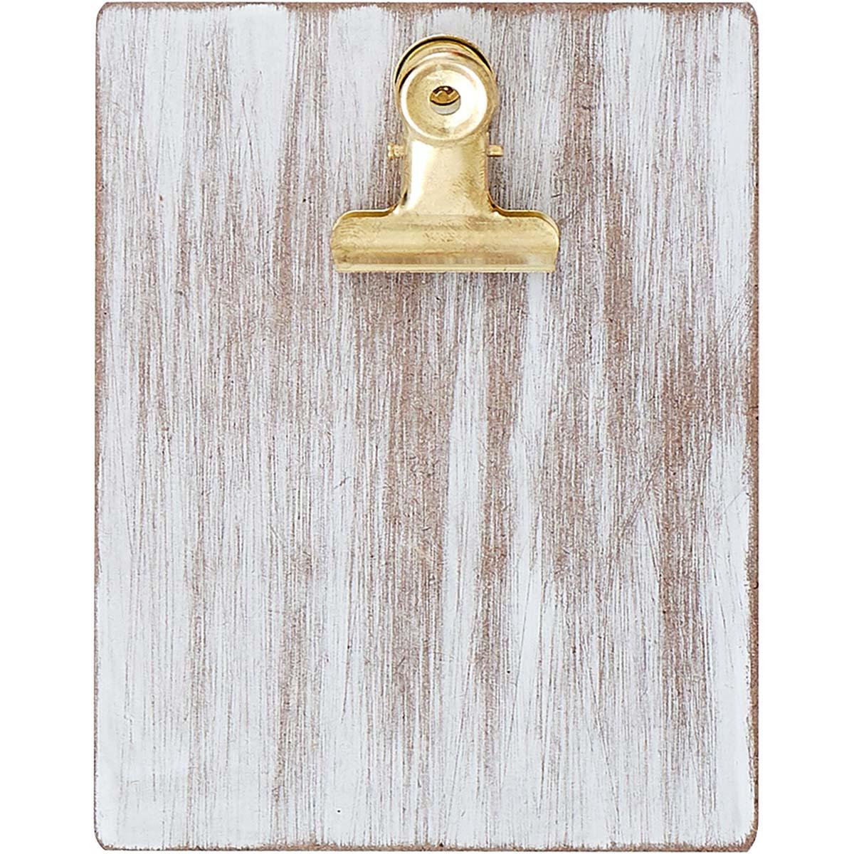 Plaid ® Surfaces - Mini Clipboard Frame - Whitewash - 44950