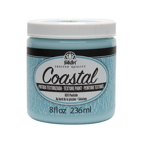 FolkArt ® Coastal™ Texture Paint - Poolside, 8 oz.
