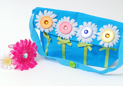 Pretty Posies Headband And Clutch Set