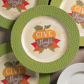 Distressed Thanksgiving Chargers