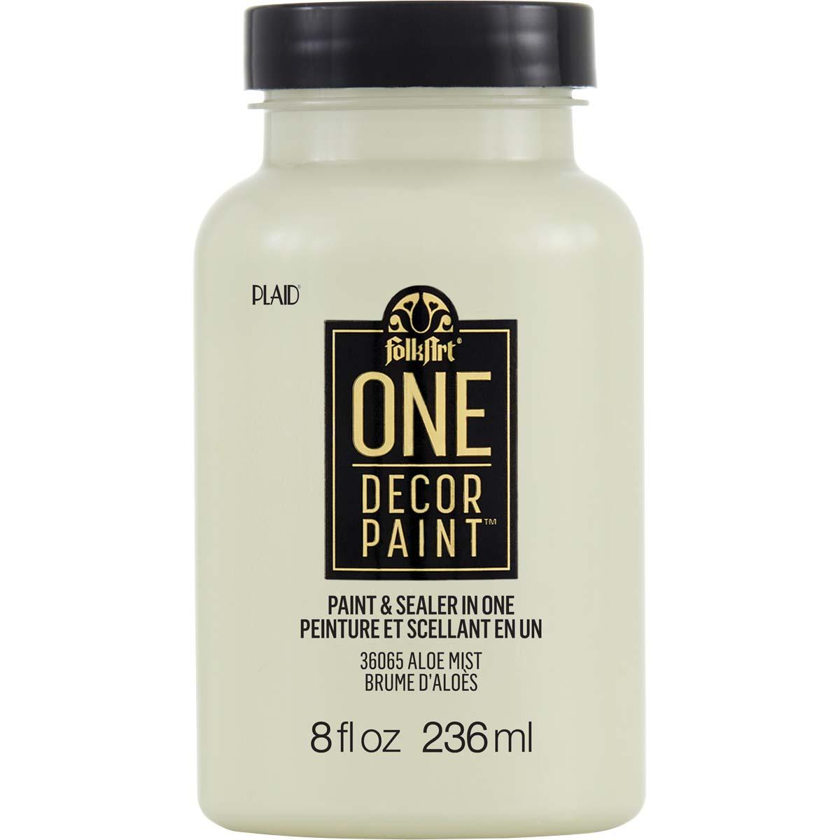 FolkArt ® One Décor Paint™ - Aloe Mist, 8 oz. - 36065