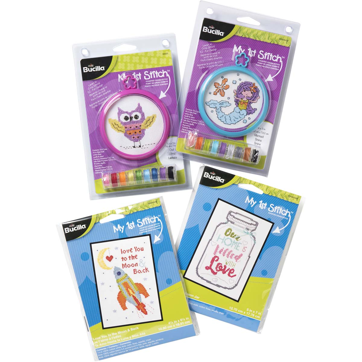Bucilla ® My 1st Stitch™ Counted Cross Stitch Bundle - PROMOBCSB