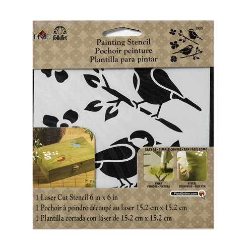 FolkArt ® Painting Stencils - Small - Birds - 30607