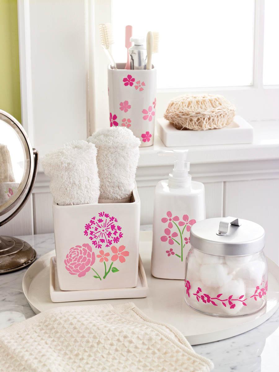 Martha Stewart ® Adhesive Stencil - Blossoms - 32269