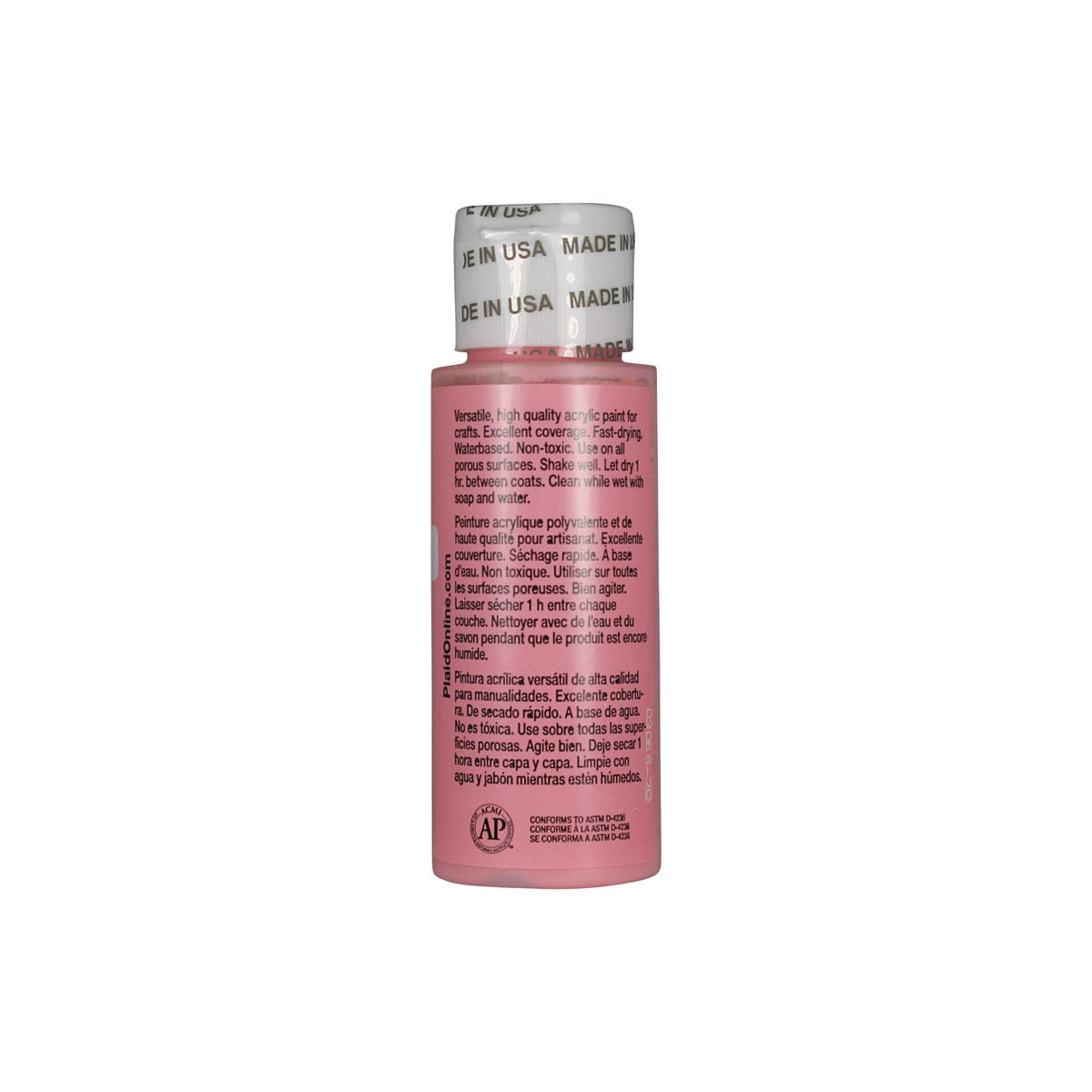 Apple Barrel ® Colors - Light Pink, 2 oz.