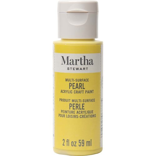 Martha Stewart ® Multi-Surface Pearl Acrylic Craft Paint - Duckling, 2 oz. - 32965CA