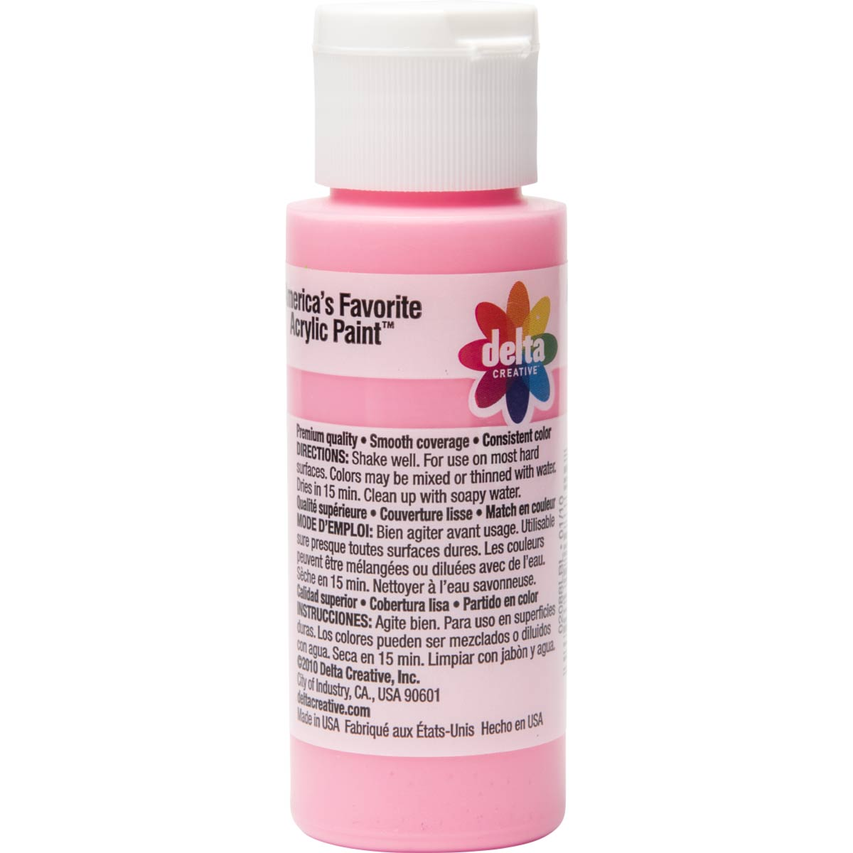 Delta Ceramcoat ® Acrylic Paint - Pretty Pink, 2 oz.