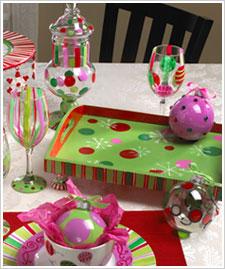 Christmas Ornament Tray