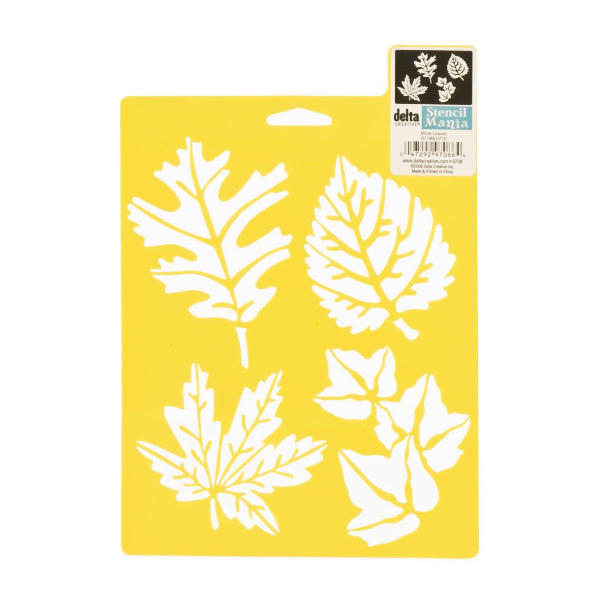Delta Stencil Mania™ - More Leaves