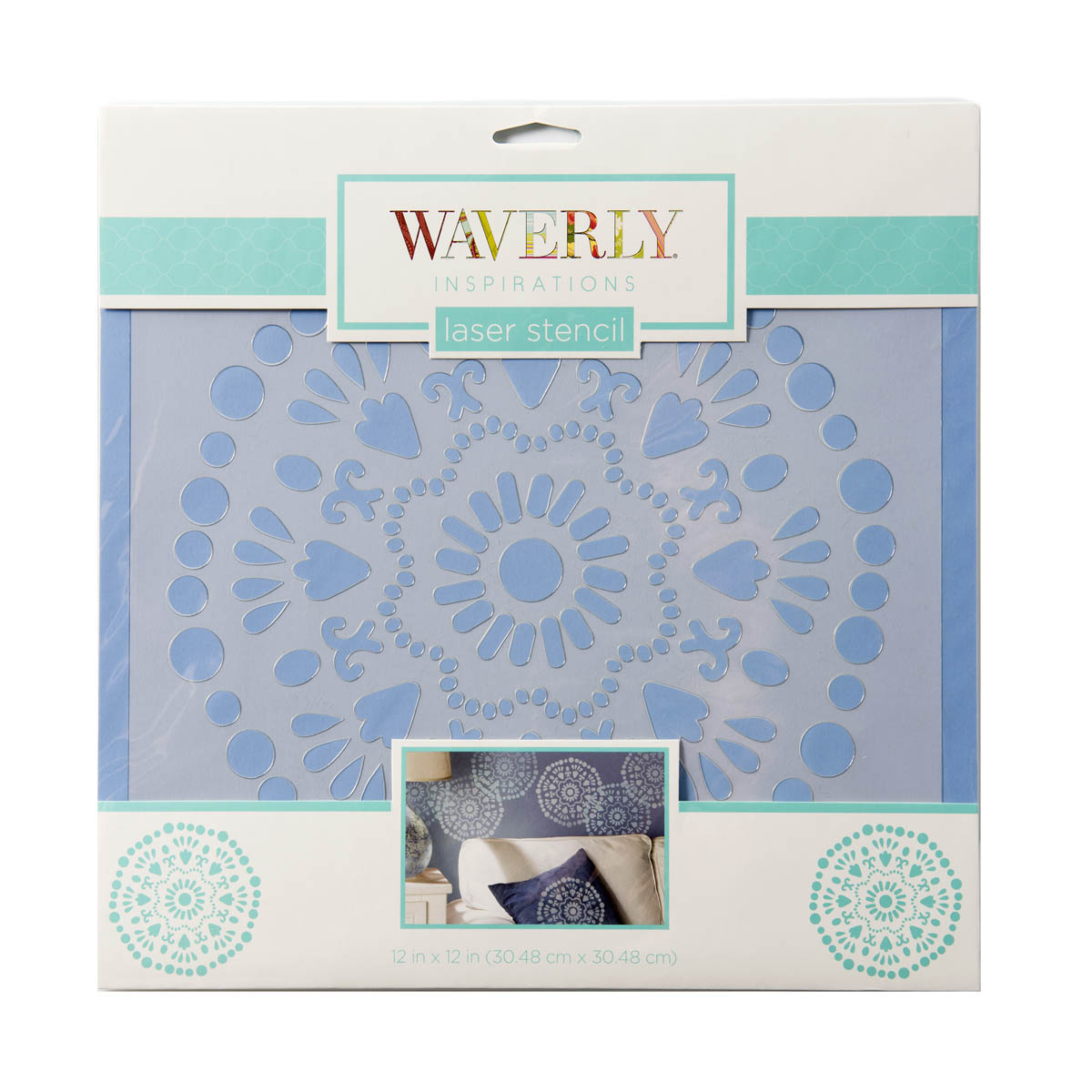 Waverly ® Inspirations Laser Stencils - Décor - Big Wheel, 12