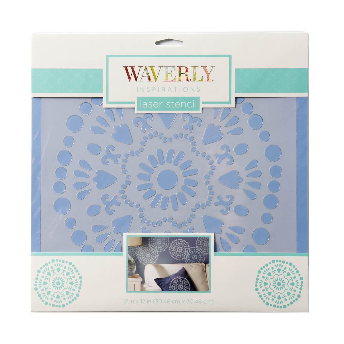 Waverly ® Inspirations Laser Stencils - Décor - Big Wheel, 12