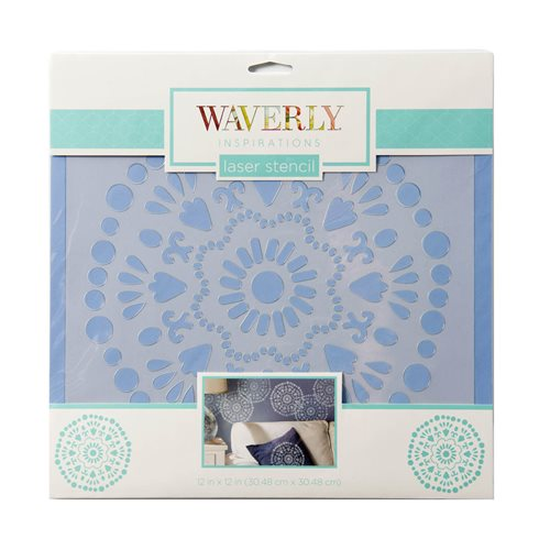 "Waverly ® Inspirations Laser Stencils - Décor - Big Wheel, 12"" x 12"""