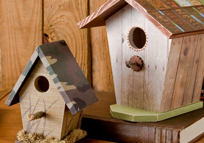 Birdhouses for Dad